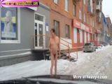 Drugged Man Walking Naked