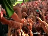 Lady Gaga groped while crowd surfing