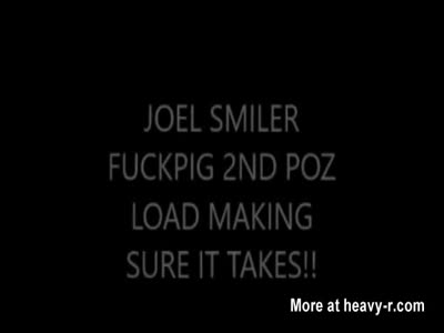 joel smiler brushing in his 3rd poz load of the day!
