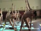 Naked Yoga Class
