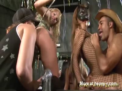 Ass And Tits Licking Gangbang