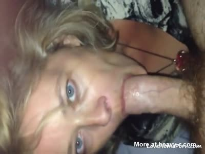 Mature Sucking On Big Hard Cock