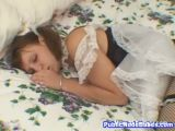 Horny French Maid Masturbating