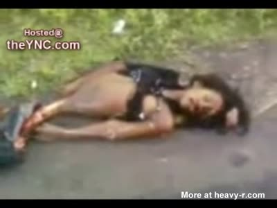 Gore video  Girls killed and mutilated on the road