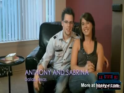 Young couple interested in swinging give it a good try