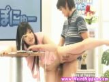Amateur japanese teen gets fucked
