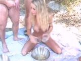 BOWL-FILTHIES FOR YOUNG BLONDE SLUT