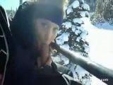 Blowjob On Ski Lift