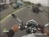 Brazilian Bike-jacker Shot