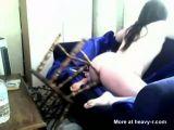 Chubby Girl Fucking Chair