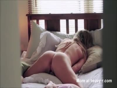 Spying On Masturbating Teen Sister