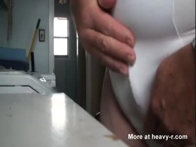Wacking His Tiny Penis
