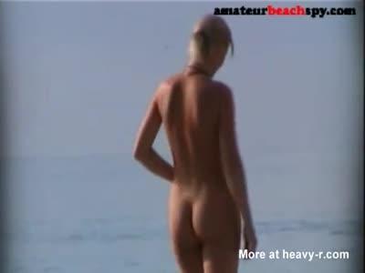 Nudist Wife Naked On Beach