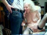 Old Granny Sucking Cock