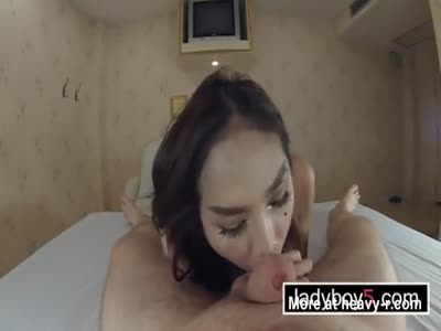Super sexy ladyboy with big tits hot blowjob and ass fucking