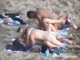 Nudist Beach Orgy Voyeur