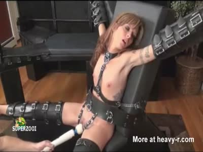 Female Slave Forced To Orgasm