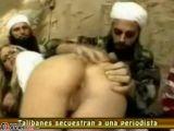 Taliban warriors rape blonde reporter