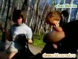 Public Cumshot In Front Of Schoolgirls