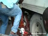 Truck Accident Aftermath