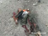 Graphic Aftermath Of Syrian Airstrike