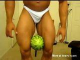 The Steroid Jock vs Watermelon
