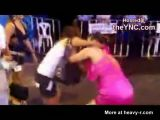 Thai Prostitutes Fighting In The Street