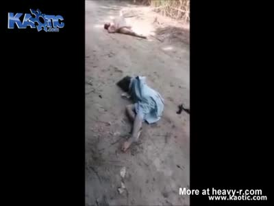 Two Girls Found Raped And Murdered Left In The Dirt