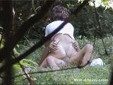 Cheating Mom Having Sex In The Park